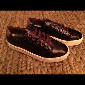 Shoes - Sophie17 dark purple patent leather shoes